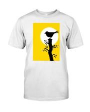 Yellow Sun Bird Classic T-Shirt thumbnail