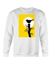 Yellow Sun Bird Crewneck Sweatshirt thumbnail