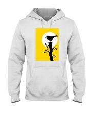 Yellow Sun Bird Hooded Sweatshirt thumbnail
