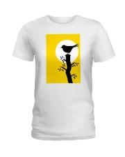 Yellow Sun Bird Ladies T-Shirt thumbnail