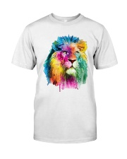 Running Paint Lion Classic T-Shirt front