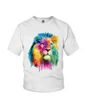 Running Paint Lion Youth T-Shirt thumbnail