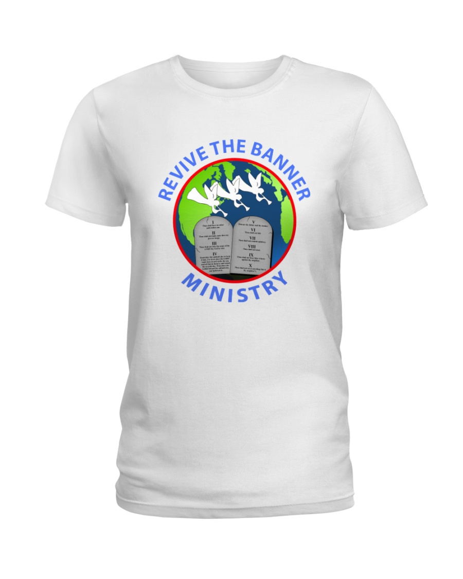 REVIVE THE BANNER MINISTRY TEE Ladies T-Shirt