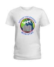 REVIVE THE BANNER MINISTRY TEE Ladies T-Shirt front