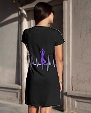 Dress Heartbeat Yoga All-over Dress aos-dress-back-lifestyle-1
