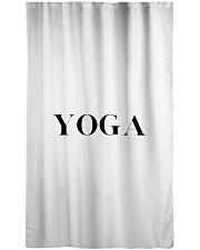 YOGA Stuff II Window Curtain - Sheer front