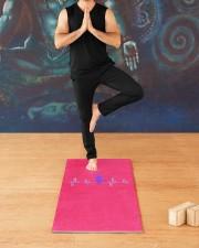 YOGA Stuff Yoga Mat 24x70 (vertical) aos-yoga-mat-lifestyle-03