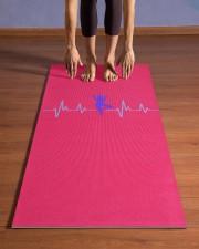 YOGA Stuff Yoga Mat 24x70 (vertical) aos-yoga-mat-lifestyle-26