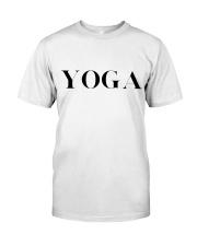 T-Shirt Man Yoga Classic T-Shirt thumbnail