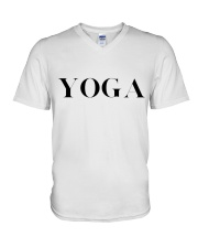 T-Shirt Man Yoga V-Neck T-Shirt thumbnail