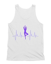 T-Shirt Man Heartbeat Yoga All-Over Unisex Tank tile