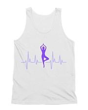 T-Shirt Man Heartbeat Yoga All-Over Unisex Tank tile