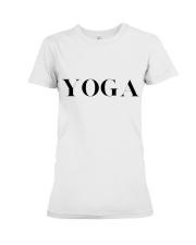 T-Shirt Women YOGA Premium Fit Ladies Tee front