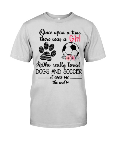 Soccer ONCE UPON A TIEM THERE WAS A GIRL WHO