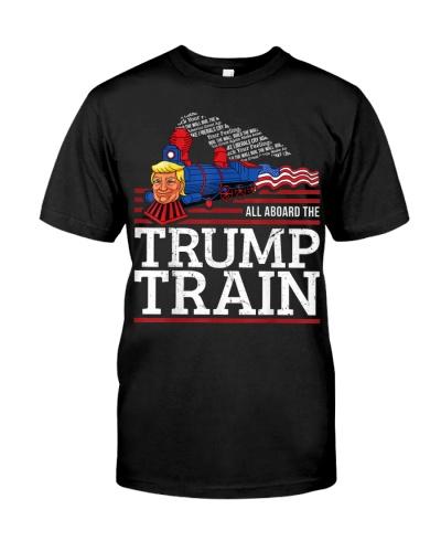 Trump 2020 Retro All Aboard the Trump Train