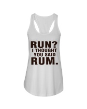 RUN 1 Ladies Flowy Tank front