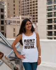 RUN 1 Ladies Flowy Tank lifestyle-bellaflowy-tank-front-3