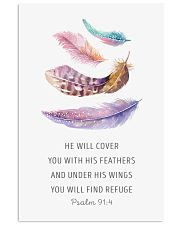He  Will Cover You With His Feathers 11x17 Poster front