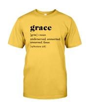 Grace Classic T-Shirt front