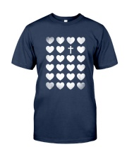 Cross In Heart Classic T-Shirt front