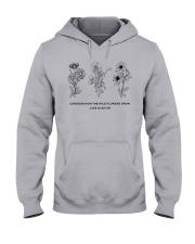 Consider How The Wild Flowers Grow Hooded Sweatshirt thumbnail