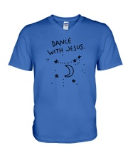 Dance With Jesus V-Neck T-Shirt thumbnail