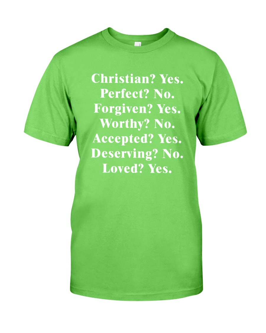 Christian - Yes - Perfect - No Classic T-Shirt