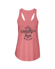 God Is Madly In Love With You Ladies Flowy Tank thumbnail