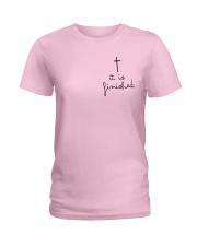 It Is Finished Ladies T-Shirt front