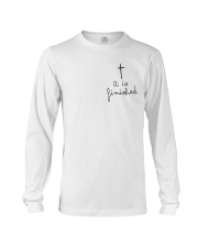 It Is Finished Long Sleeve Tee thumbnail