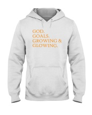 God Goals Growing and Glowing Hooded Sweatshirt tile