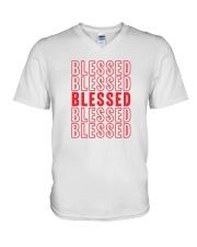 Blessed V-Neck T-Shirt thumbnail