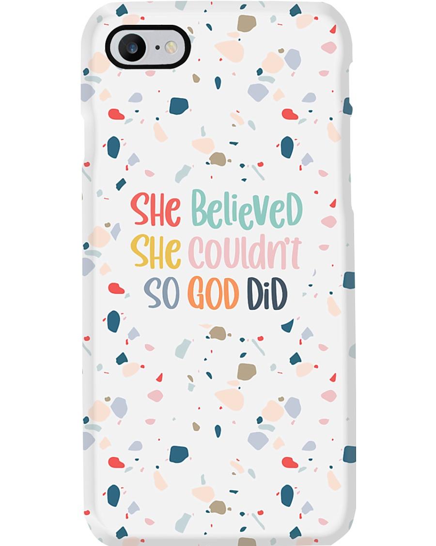 So God Did Phone Case