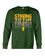 Strong To The Finish Crewneck Sweatshirt tile