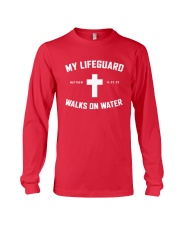 My Lifeguard Walks On Water Long Sleeve Tee thumbnail