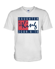 Daughter Of The King V-Neck T-Shirt thumbnail