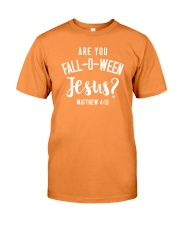 Are You Fall-O-Ween Jesus Premium Fit Mens Tee thumbnail