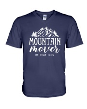 Mountain Mover V-Neck T-Shirt thumbnail