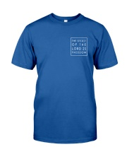 The Spirit Of The Lord Is Freedom Classic T-Shirt thumbnail