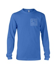 The Spirit Of The Lord Is Freedom Long Sleeve Tee thumbnail