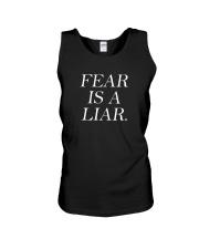 Fear Is A Liar Unisex Tank thumbnail