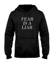 Fear Is A Liar Hooded Sweatshirt thumbnail