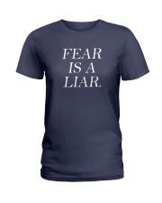 Fear Is A Liar Ladies T-Shirt thumbnail