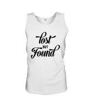 Lost But Found Unisex Tank thumbnail