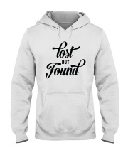 Lost But Found Hooded Sweatshirt front