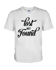 Lost But Found V-Neck T-Shirt thumbnail
