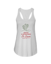 Rooted And Established In Love Ladies Flowy Tank thumbnail