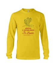 Rooted And Established In Love Long Sleeve Tee thumbnail