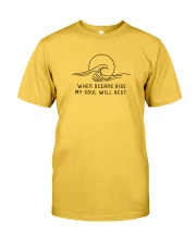When Oceans Rise My Soul Will Rest Classic T-Shirt thumbnail
