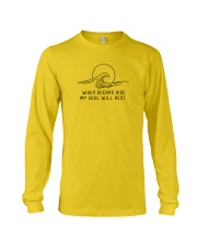 When Oceans Rise My Soul Will Rest Long Sleeve Tee thumbnail